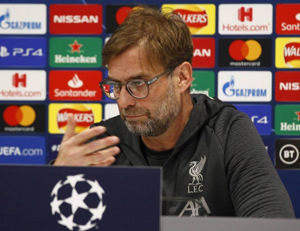 Jürgen Klopp FC Liverpool Pressekonferenz Anfield