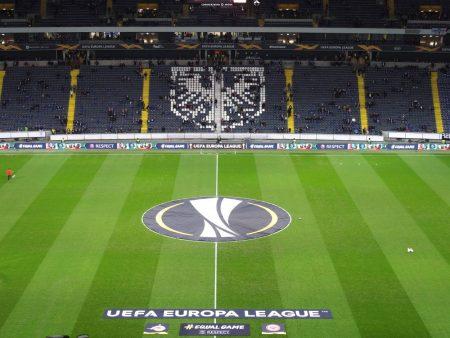 Europa League Commerzbank Arena Frankfurt