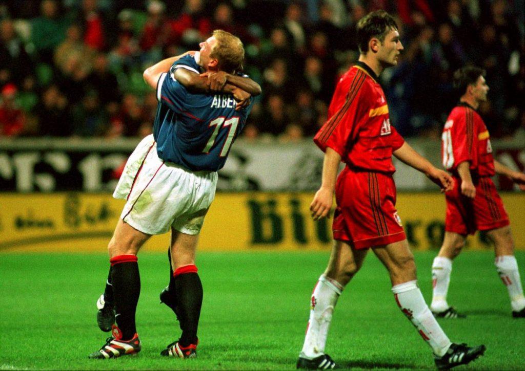 Bayer Leverkusen - Glasgow Rangers 1998