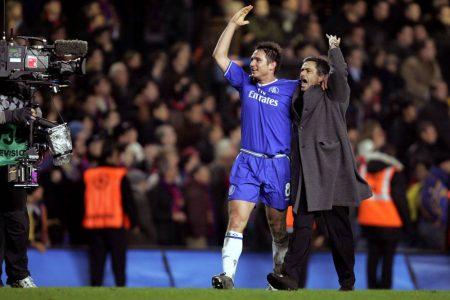 José Mourinho FC Chelsea - FC Barcelona 4:2