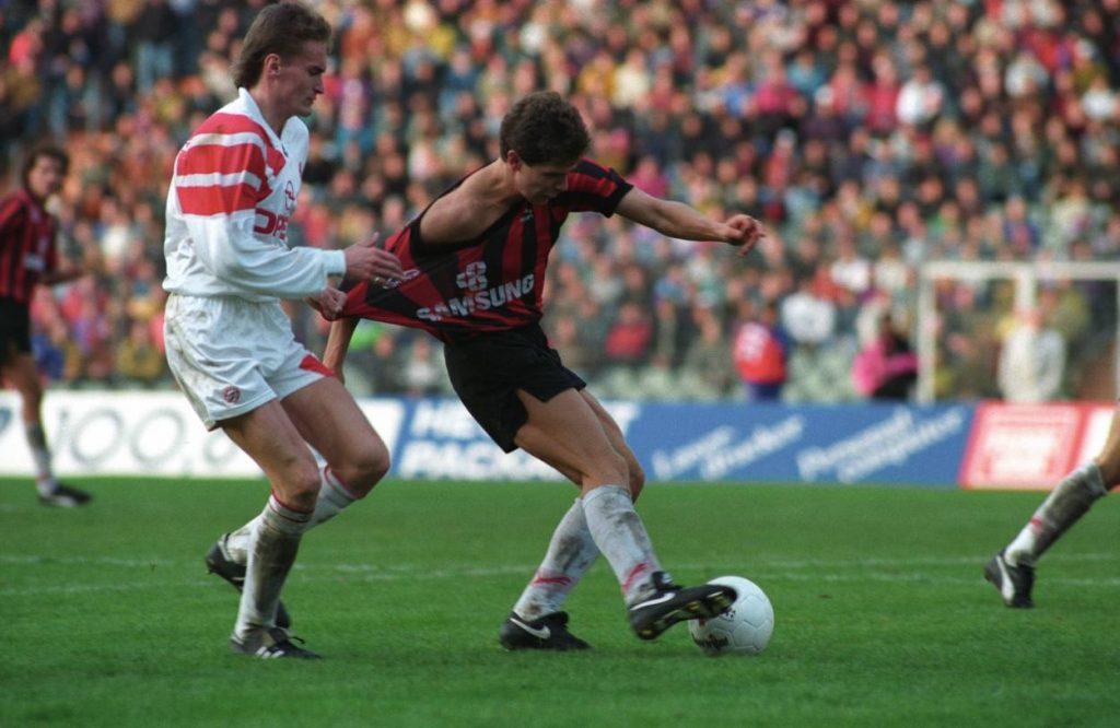 Eintracht Frankfurt - FC Bayern München 21. März 1992