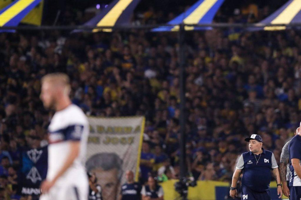 Diego Maradona Boca Juniors - Gimnasia y Esgrima Buenos Aires