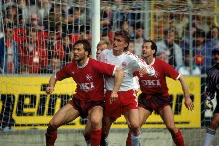 FC Kaiserslautern FC Bayern München 23. März 1991