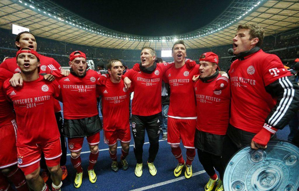 Hertha BSC FC Bayern München 25. März 2014