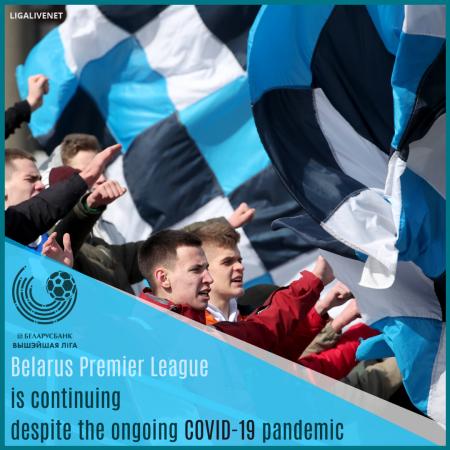 Belarus Premier League COVID19