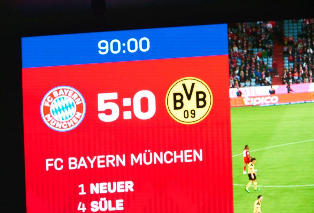Bayern, Dortmund 2019