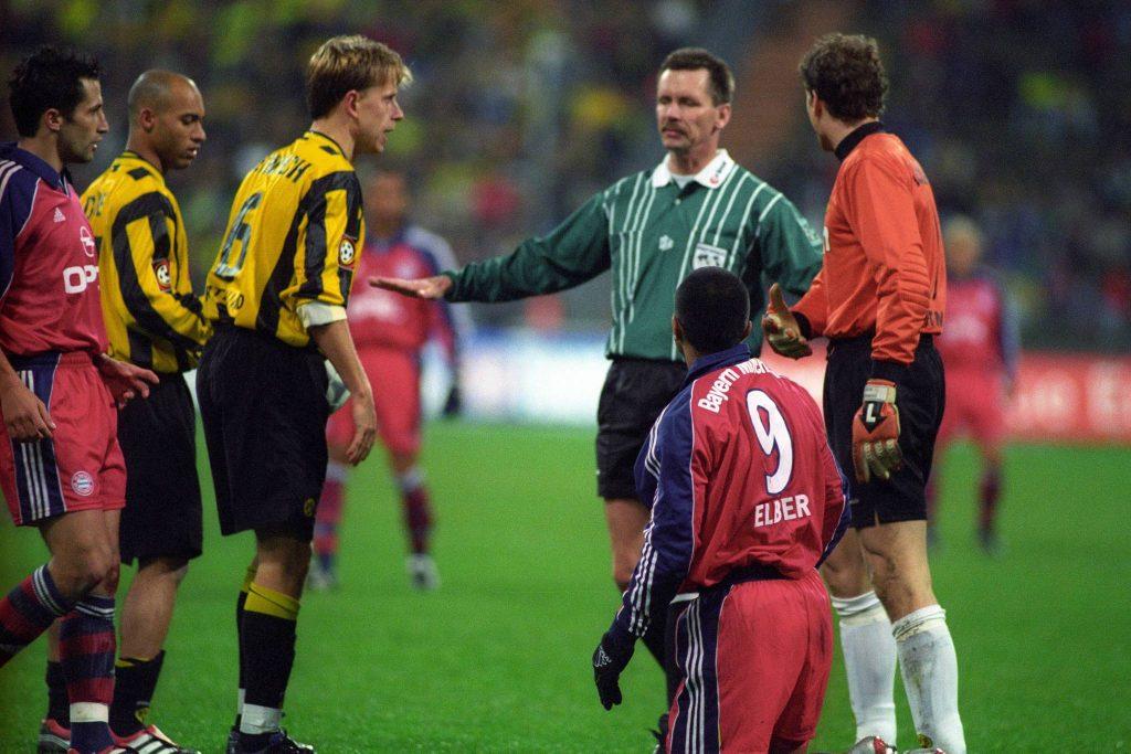 Bayern, Dortmund, Schiedsrichter Strampe
