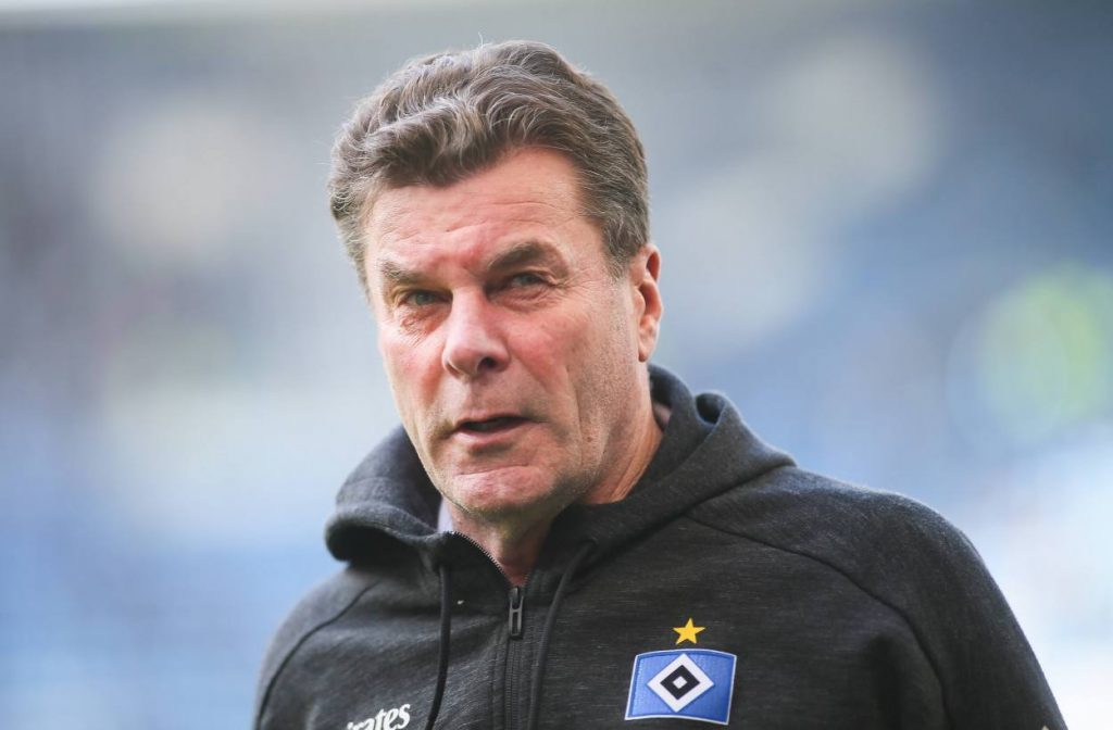 Dieter Hecking, HSV