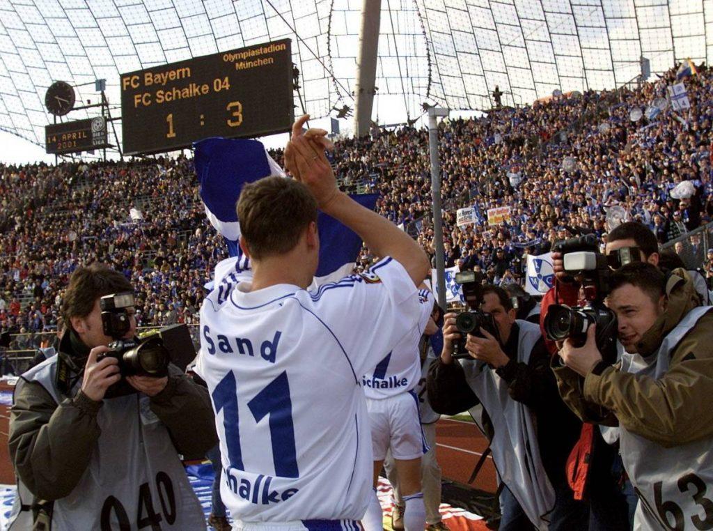 Ebbe Sand, Schalke, Bayern