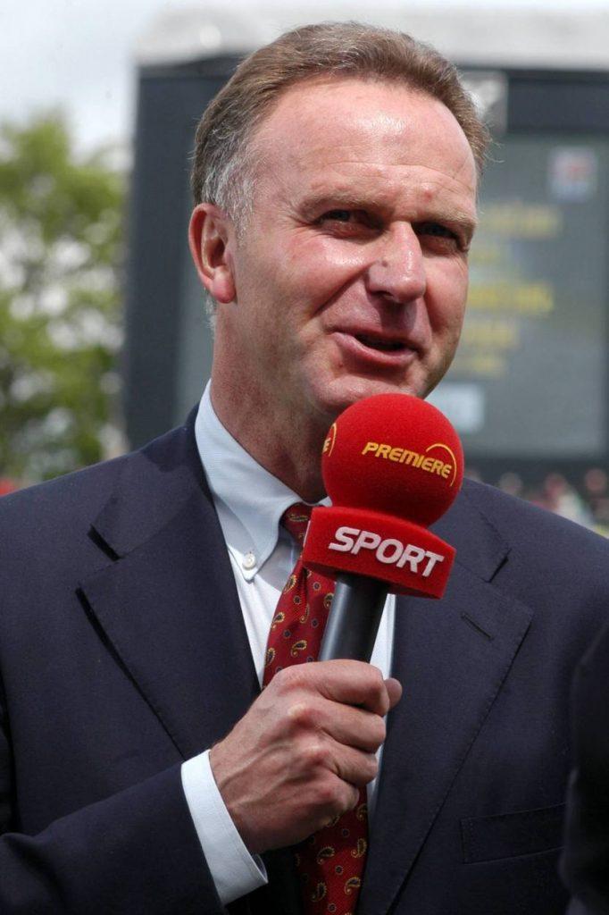 Rummenigge, Bayern, Premiere