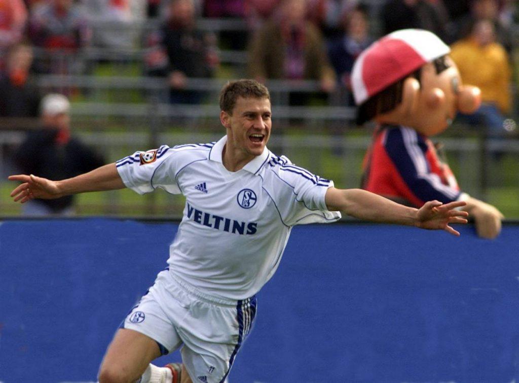 Ebbe Sand, Schalke, Bayern 2001