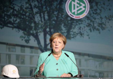 Angela Merkel, DFB