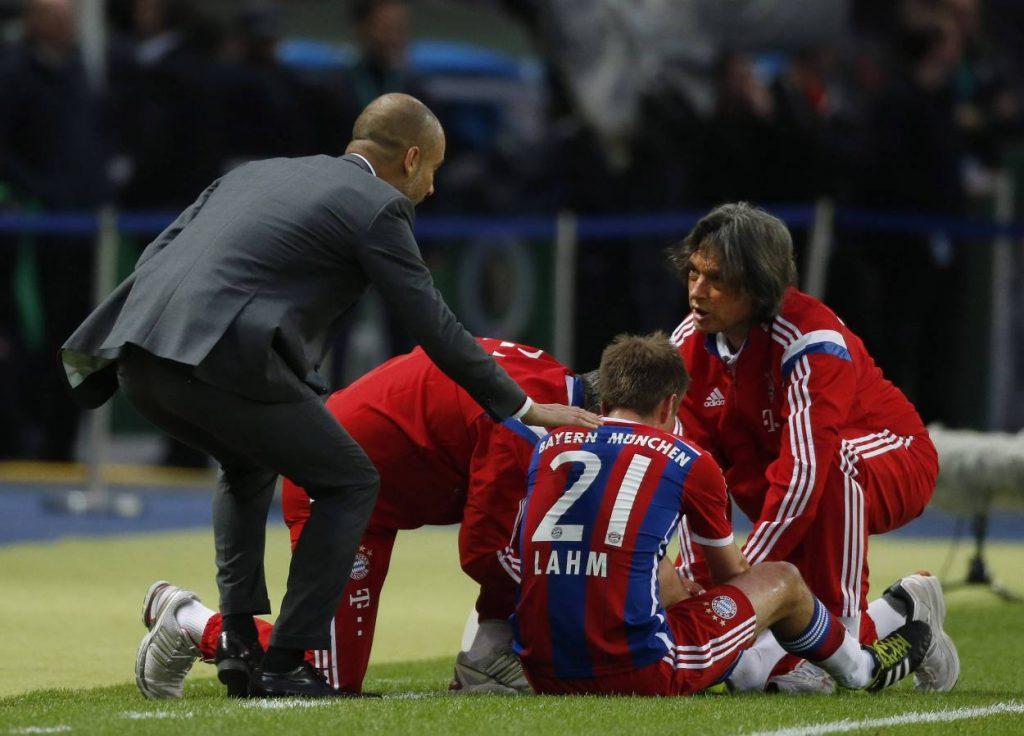 Guardiola, Müller Wohlfarth, Bayern