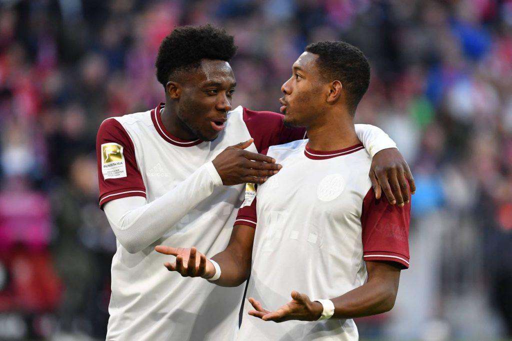 Alphonso Davies, David Alaba Bayern