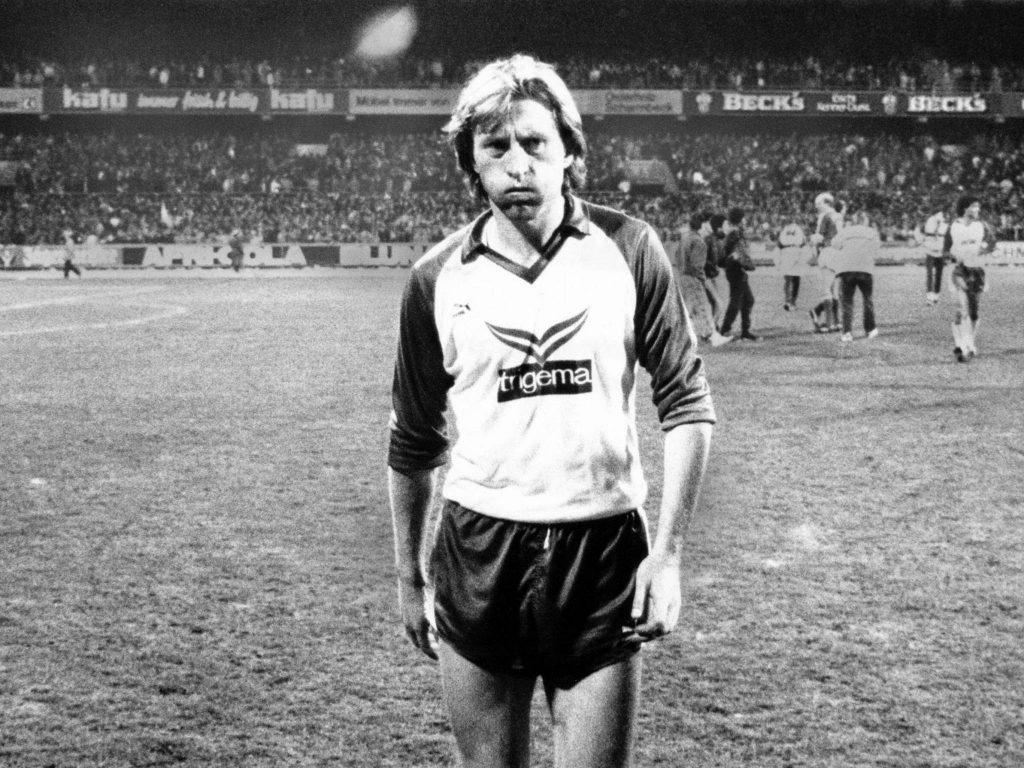 Michael Kutzop, Werder Bremen 1986