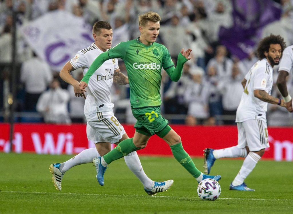 Öegaard, Real Madrid, Transfer
