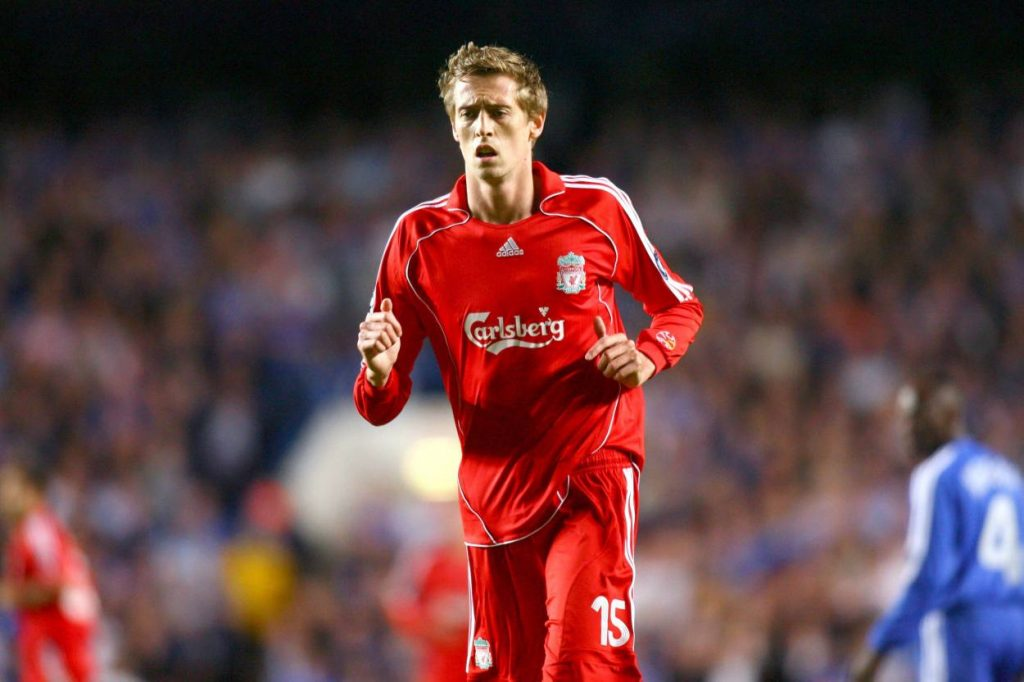 Crouch says he was feeling embarrassed during the first few month at Anfield