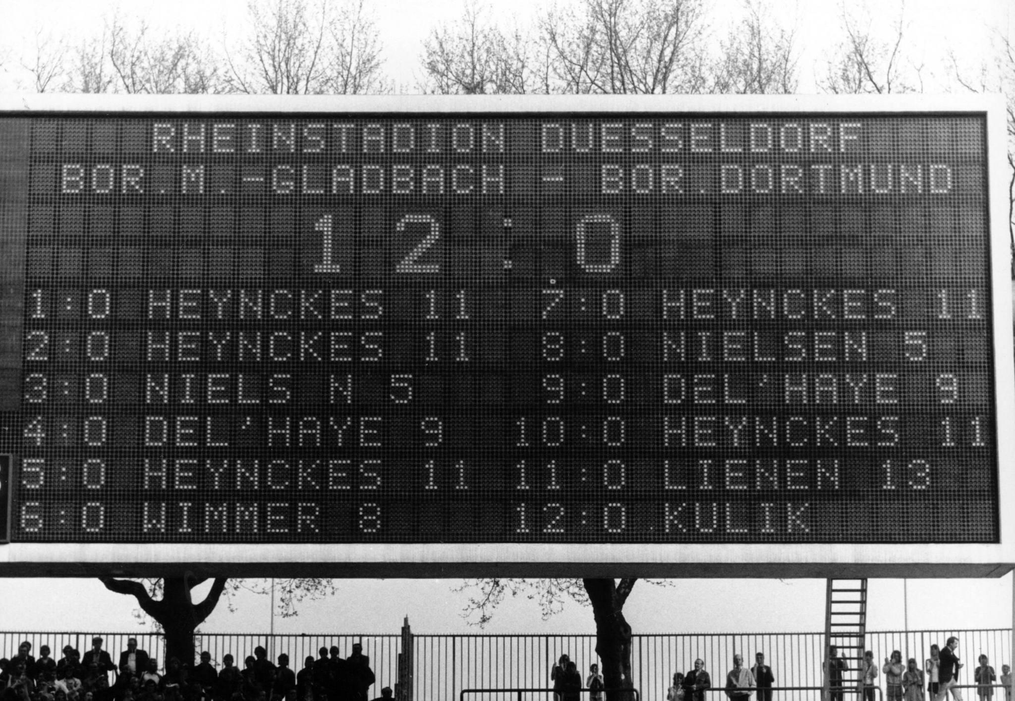 Gladbach, Dortmund, 1978