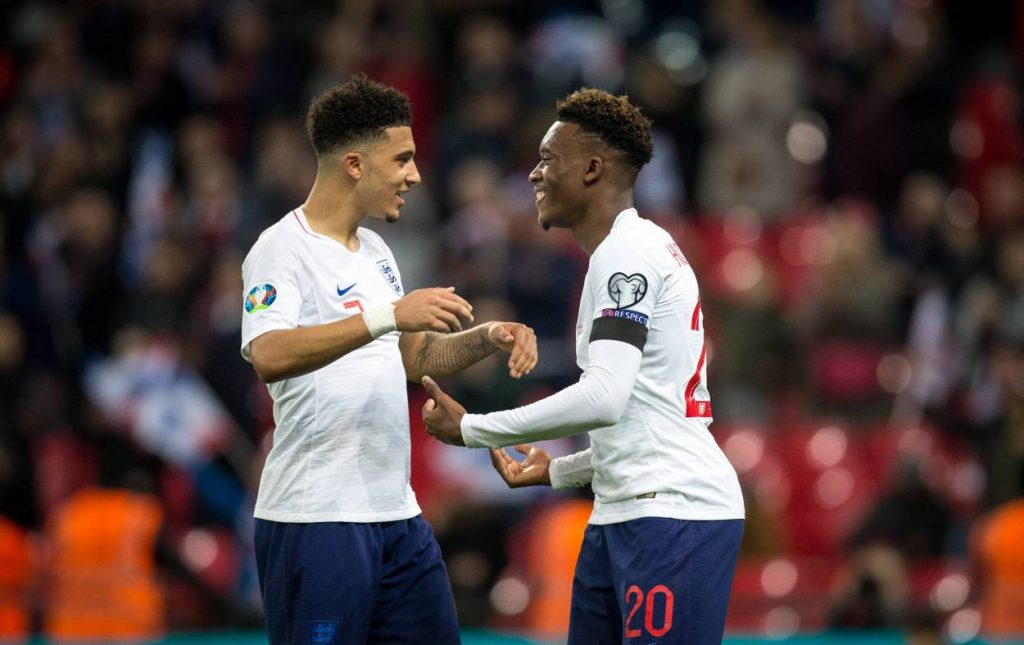 Hudson-Odoi is eager to see his national team buddy Sancho at Stamford Bridge