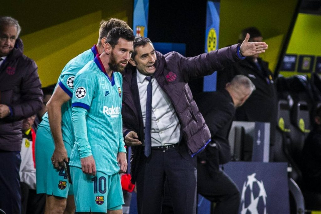 Ernesto Valverde says Messi is a genius and is very easy to coach