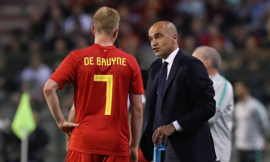 De Bruyne's national team coach was full of praise for the City's star playmaker