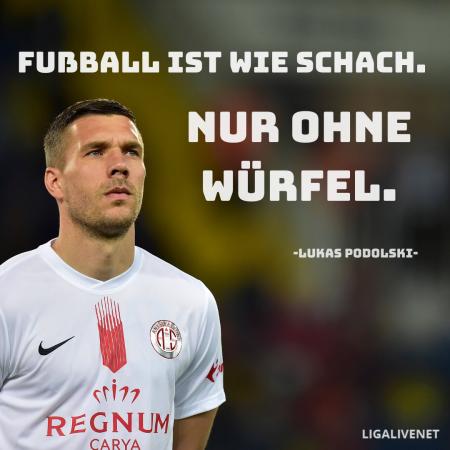 Lukas Podolski Weisheit