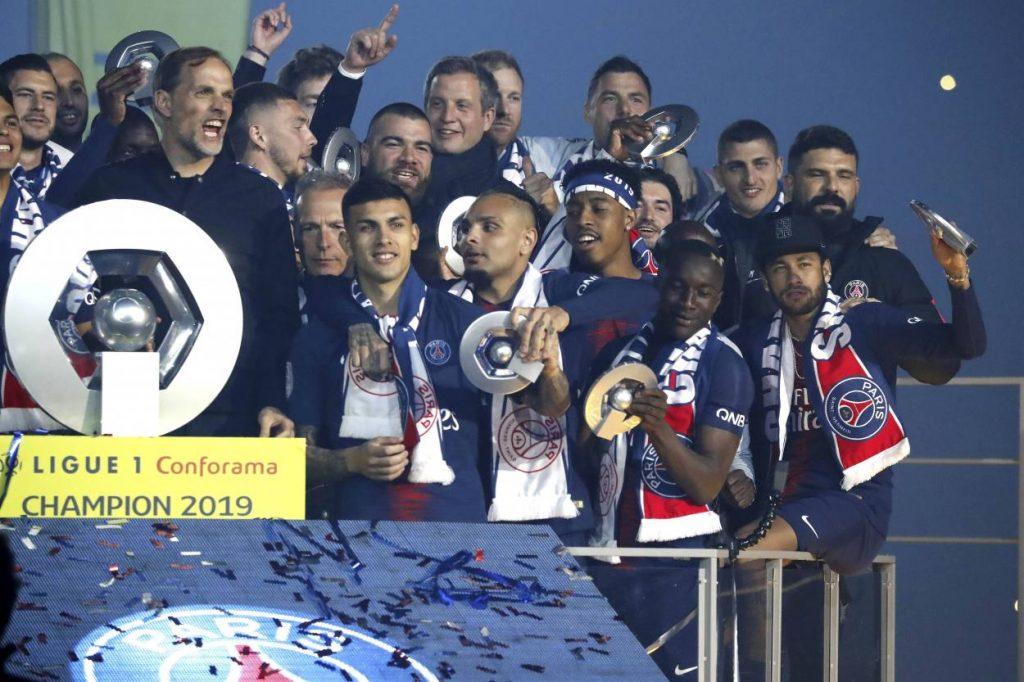 Paris St. Germain Meister Ligue 1