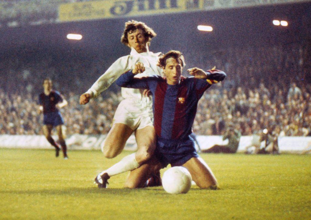 Trevor Cherry Leeds United Johan Cruyff