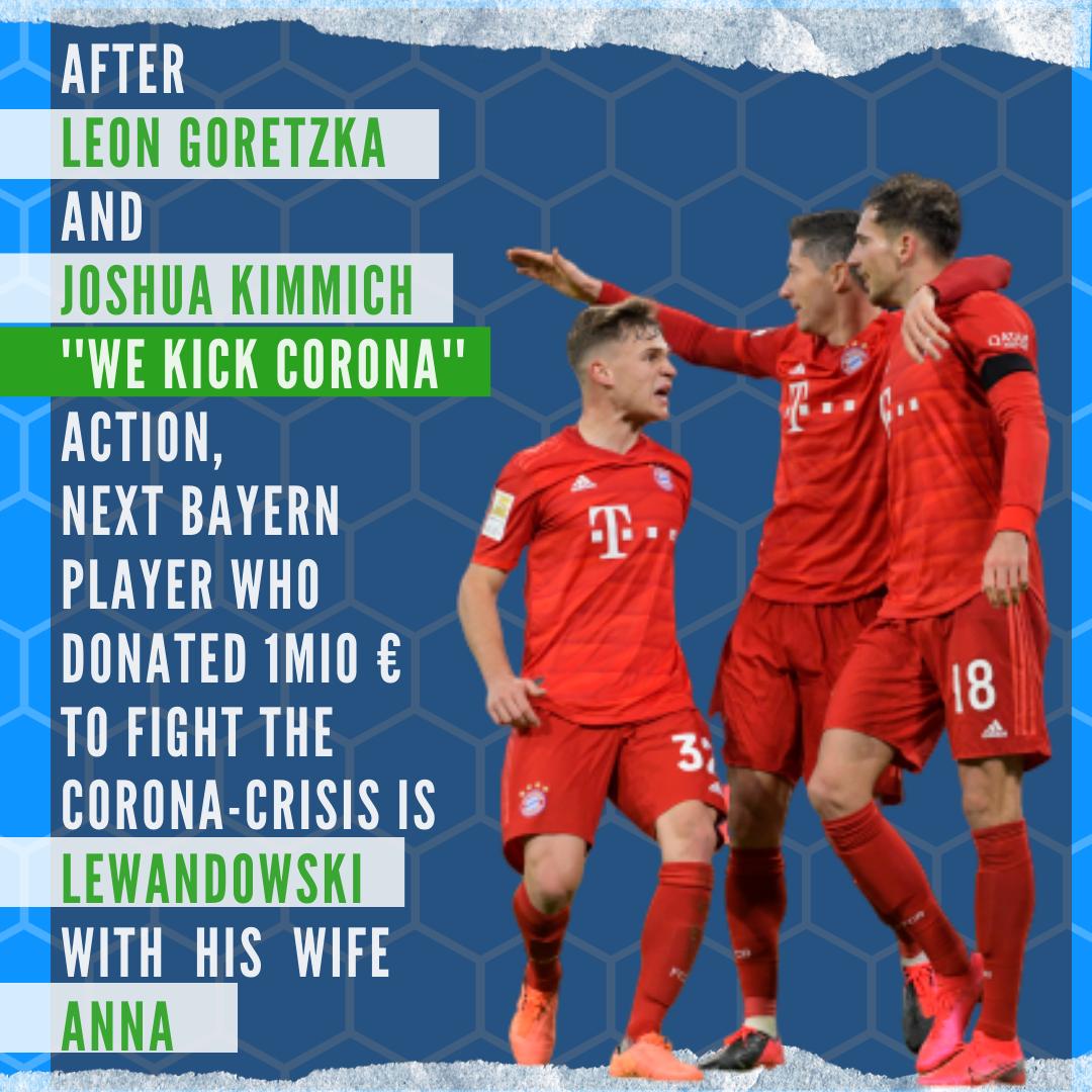 Bayern München Corona Donation
