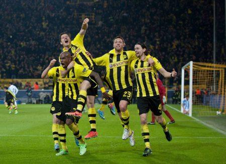Felipe Santana Borussia Dortmund FC Malaga