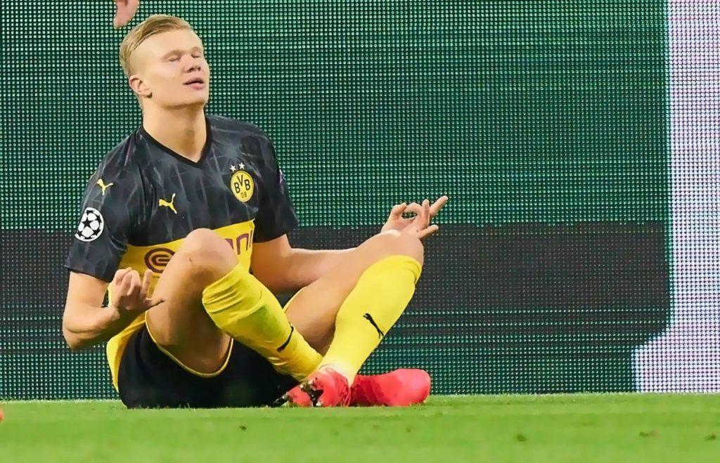 The young Dortmund star thanks Neymar after mocking his celebration