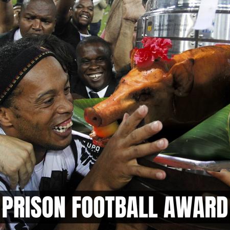 Ronaldinho prison