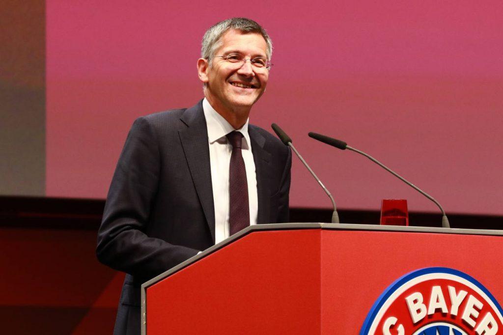 Herbert Hainer, FC Bayern München
