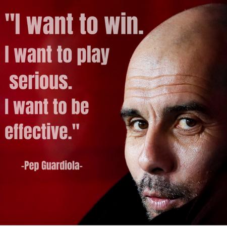 Pep Guardiola quote