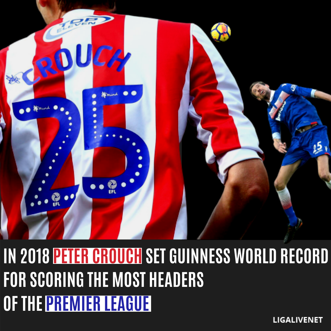 Peter Crouch Guinnes World Record