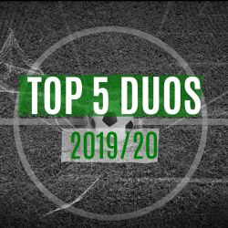 Top 5 duos in 2019/20 before the COVID-19 time-out