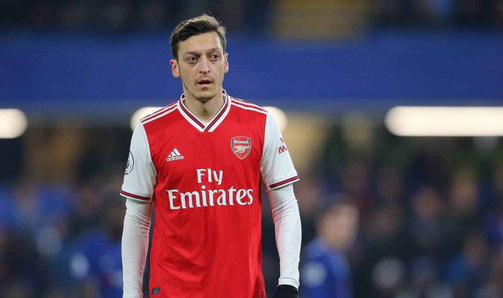 Mesut Ozil names his dream five-a-side team