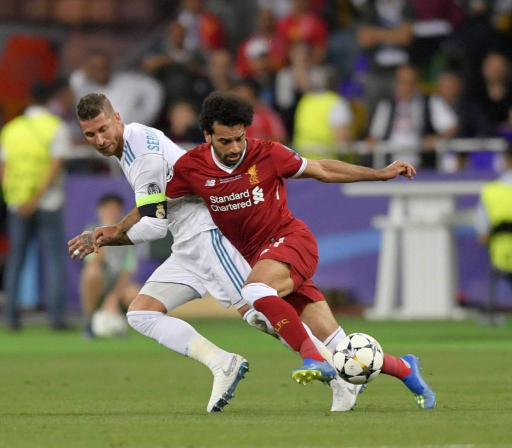 What Sergio Ramos said before injuring Mohamed Salah in UCL final