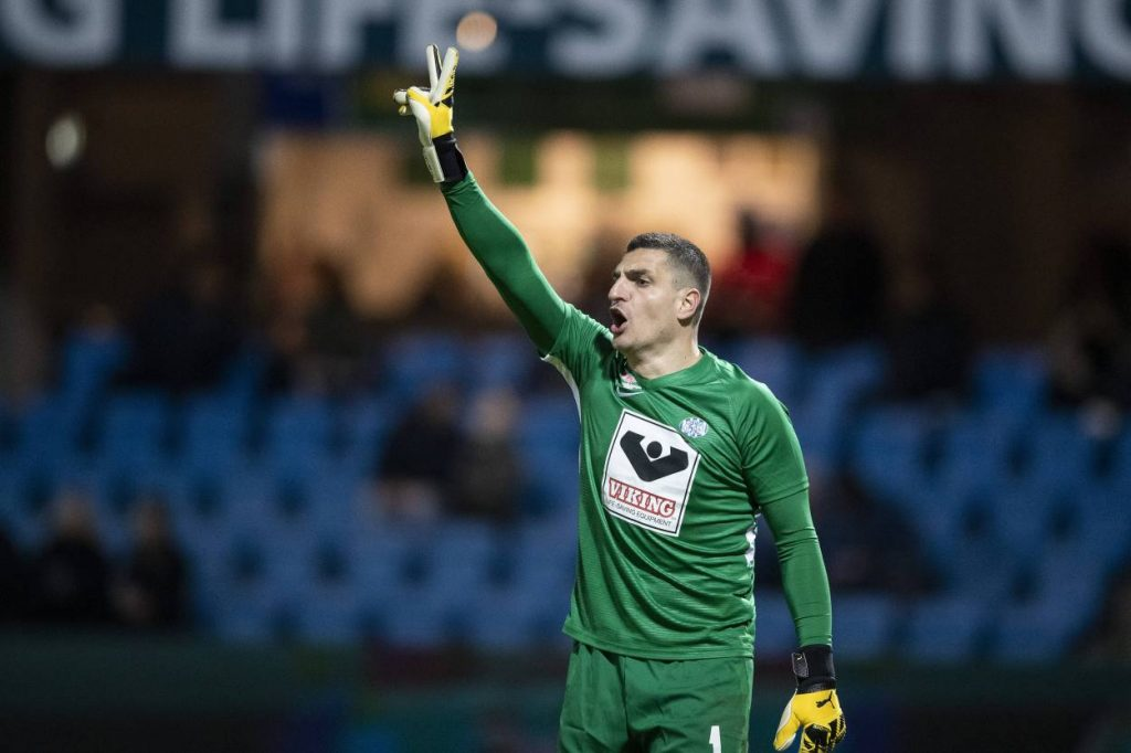 Vito Mannone says playing behind closed doors is unpleasant