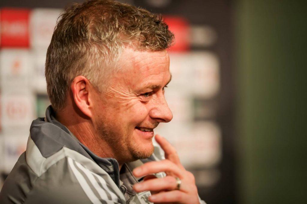 Solskjaer spoke about internal issues at Manchester United