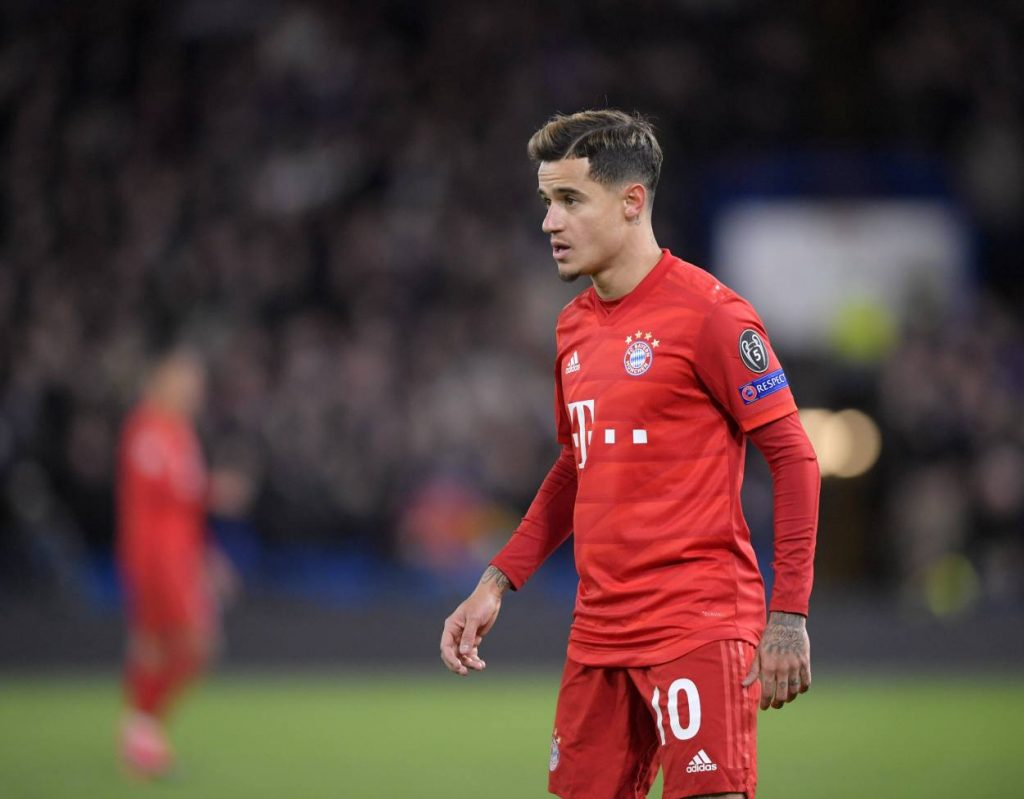 Coutinho cuts wages by 50 percent to extend Bayern Munich loan