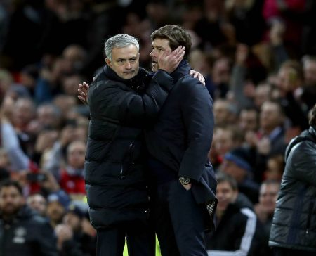 Mauricio Pochettino says he is happy that Mourinho replaced him at Spurs