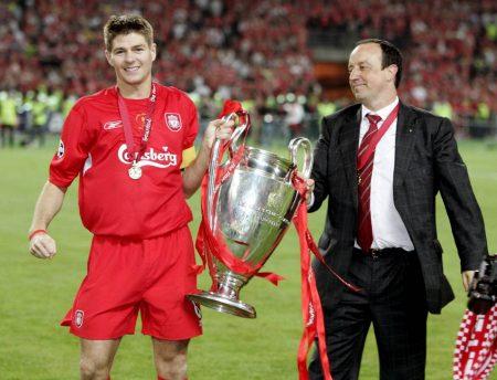 Rafa Benitez reveals UCL final superstition