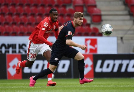 Timo Werner's hat-trick helped Leipzig beat Mainz by 5:0. Leipzig will be watching BVB Byern clash closely - two teams sitting above them.