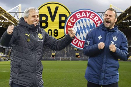 Borussia Dortmund will host Bayern Munich in the Bundesliga and coach Lucien Favre is backing his team to win the all-important tie.