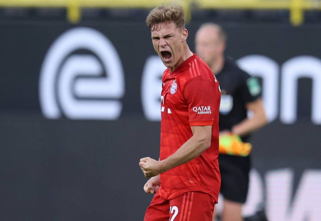 The Bundesliga classic ended 1:0 in favor of visitors as Joshua Kimmich's chip from outisde the penalty box won the tie for Bayern.