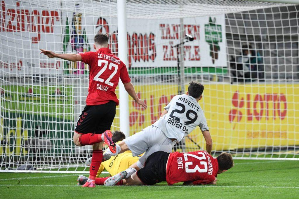 Kai Havertz SC Freiburg Bayer Leverkusen 0:1