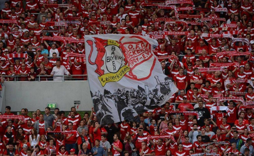 Die Fan-Freundschaft Bayer Leverkusen und Offenbacher Kickers besteht heute noch.