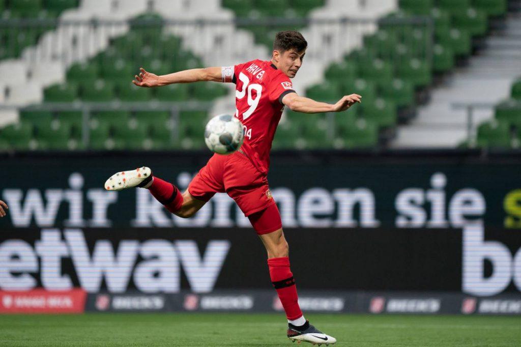 Leverkusen coach praises Havertz