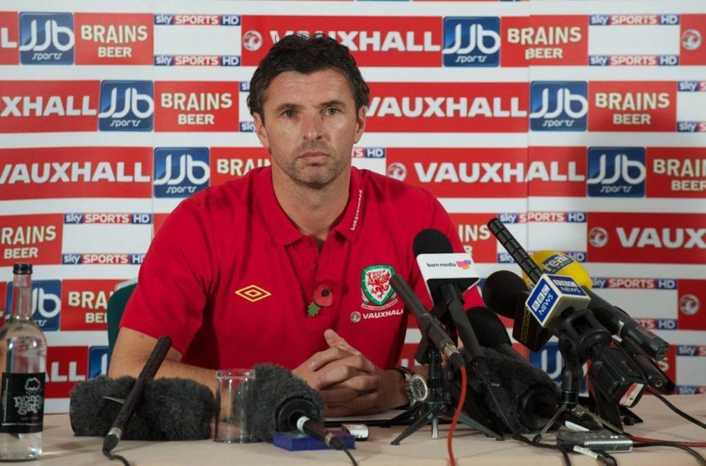 Gary Speed war zuletzt Trainer der walisischen Nationalmannschaft.